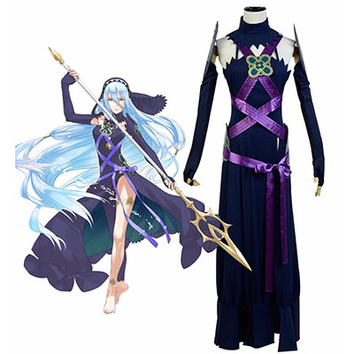 Costume Fire Emblem Fates Azura Dark Robes Cosplay Déguisement Carnaval