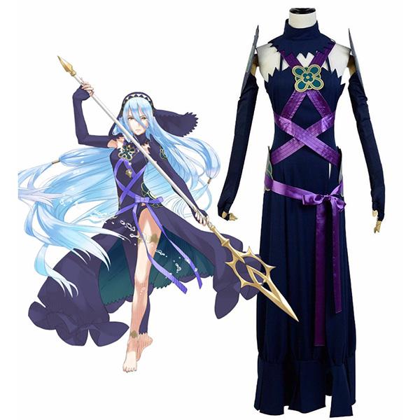 Fire Emblem Fates Azura Dark Dress Cosplay Costume Custom Made