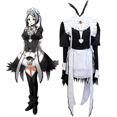 Fire Emblem Fates Flora Maid Dress Cosplay Costume Custom Made