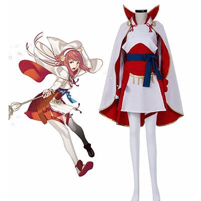 Fire Emblem Fates Sakura Cosplay Jelmez Karnevál Ruhák Halloween