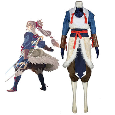 Fire Emblem Fates Takumi Cosplay Kostyme Karneval