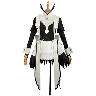 Fire Emblem If Felicia Maid Dress Full Sets Cosplay Costume Stage Clothes
