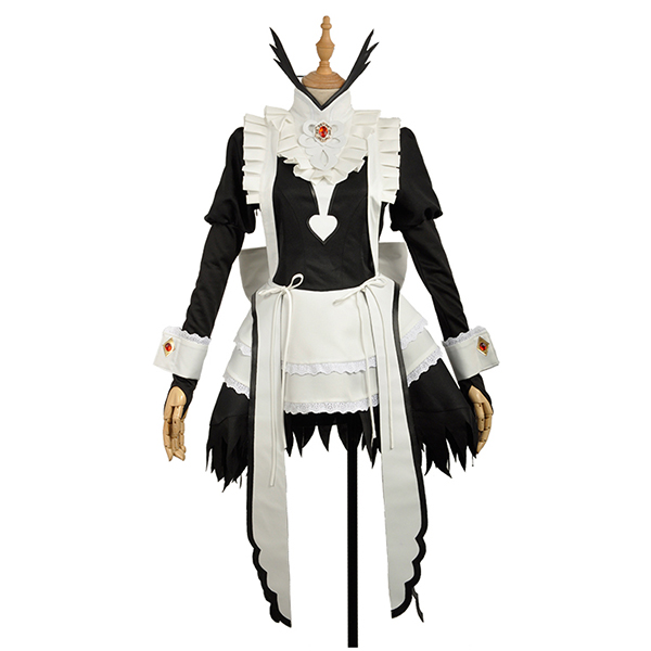 Fire Emblem If Flora Maid Dress Full Sets Cosplay Costume Stage Performence