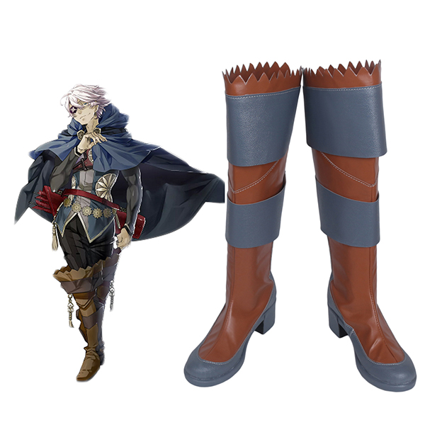 Fire Emblem Niles Cosplay Boots Shoes Custom Made Any Size