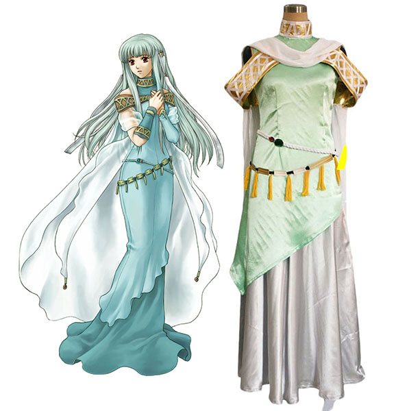 Fire Emblem: Rekka no Ken Ninian Cosplay Costume Custom Made