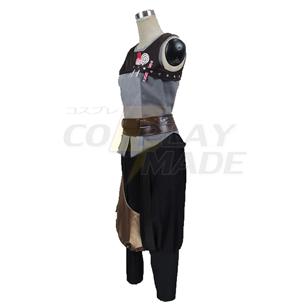 Fire Emblem Awakening Gaius Costume Cosplay with Gloves