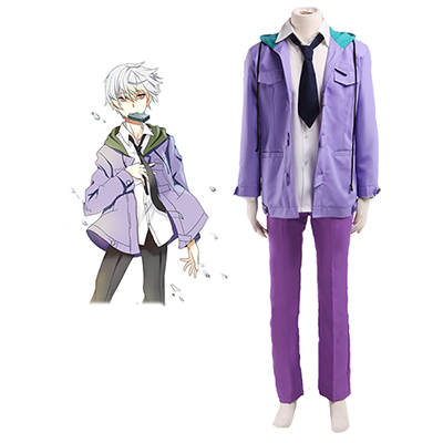 The Future Diary Akise Aru Cosplay Kostym