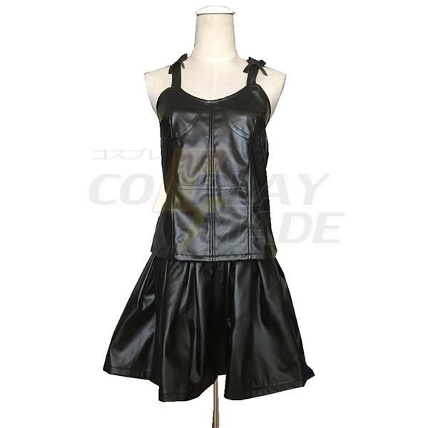 The Future Diary Gasai Yuno Black Dress Cosplay Costume