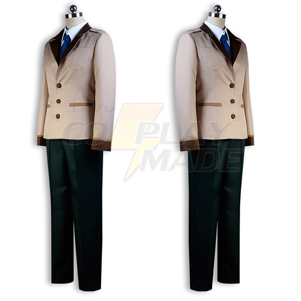 Ranpo Kitan: Game of Laplace Hashiba Cosplay Costume Halloween