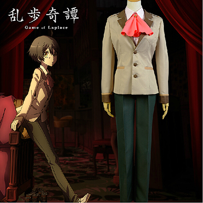 Ranpo Kitan: Game of Laplace Kobayashi Cosplay Costume Halloween