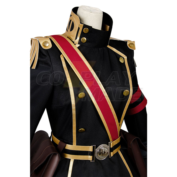 Re Creators Gunuku no Himegimi Military Uniform Princess Cosplay Costume