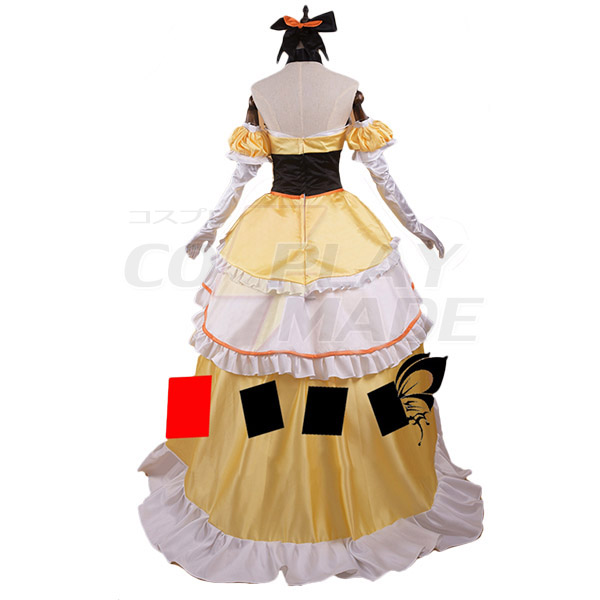 Re:Zero Life in a Different World from Zero Felt Dress Cosplay Costume