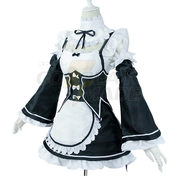 Re: Zero Life in a Different World from Zero Remu Ramu Apron Cosplay Costume