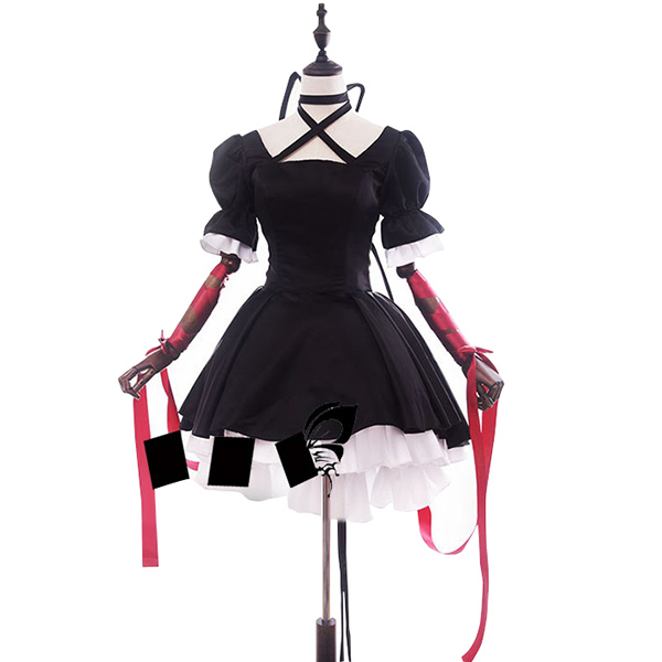 Rewrite Kagari Cosplay Costume Stage Performence Clothes Halloween