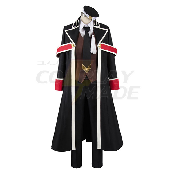 The Royal Tutor Heine Wittgenstein Uniform Cosplay Costume Halloween Carnival