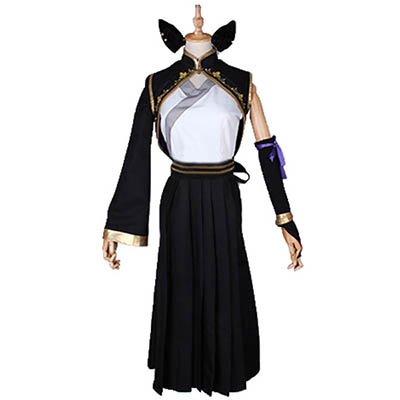 Anime RWBY Kail Cosplay Costume Printting Dress Halloween