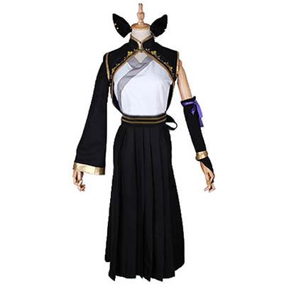 Anime RWBY Kail Cosplay Costume Printting Dress Halloween