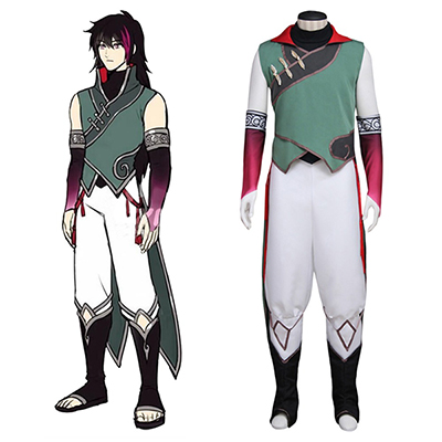 RWBY Roman Volume 4 Lie Ren Uniform Cosplay Costume Halloween