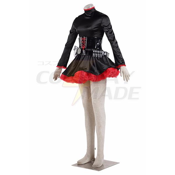 RWBY Ruby Rose Uniform Cosplay Costume Halloween