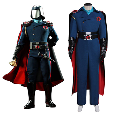 G.I. Joe: The Rise of Cobra Commander Cosplay Kostym Serpentor Utrusta Vuxna