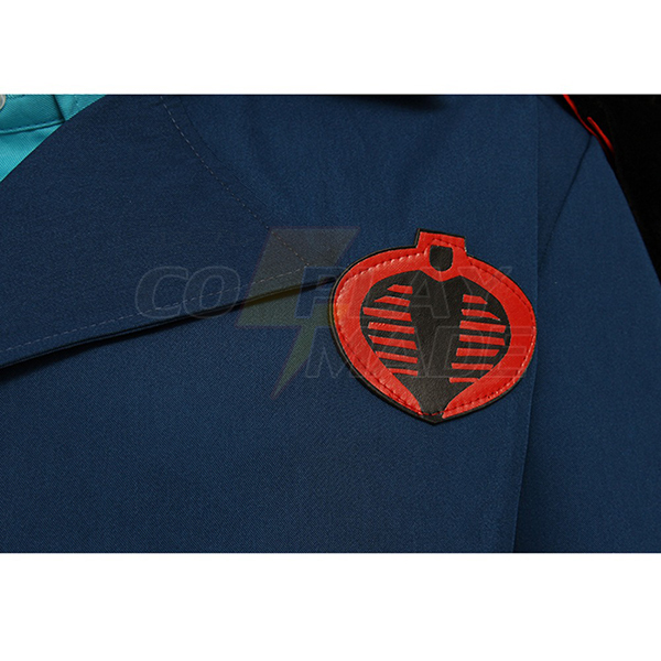 G.I. Joe: The Rise of Cobra Commander Cosplay costume Serpentor Outfit Adult