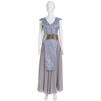 Costumi Gioco of Thrones Daenerys Targaryen Mother of Dragons Cosplay Vestito