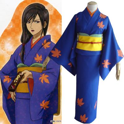 Gintama Kotarou Katsura Kimono Kostüme Cosplay Kostüme