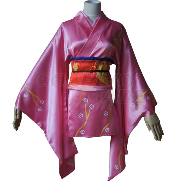 Disfraces Gintama Kyuubei Yagyuu Kimono Cosplay Halloween