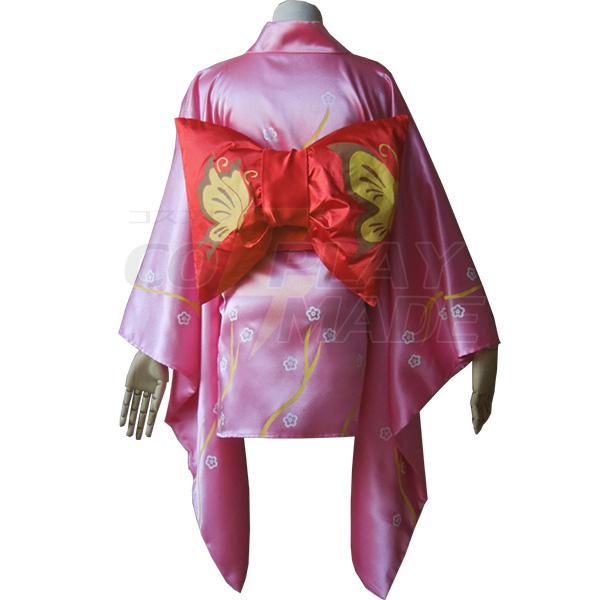 Gintama Kyuubei Yagyuu Kimono Costume Cosplay Halloween