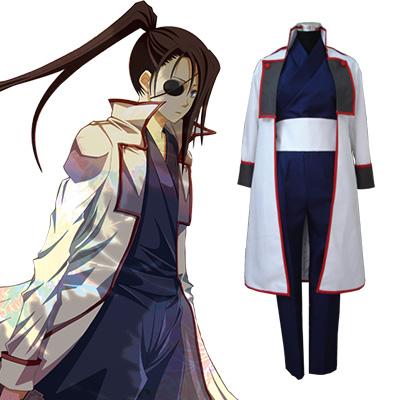 Gintama Kyuubei Yagyuu Utrusta Cosplay Kostym