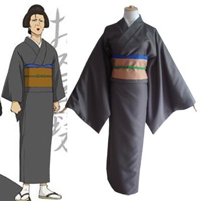Gintama Otose Kimono Cosplay Kostym Halloween
