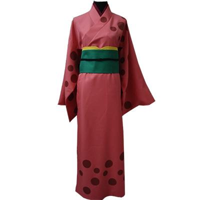 Gintama Saigou Tokumori Kimono Cosplay Kostymer