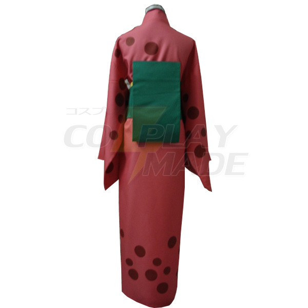 Gintama Saigou Tokumori Kimono Cosplay Costumes
