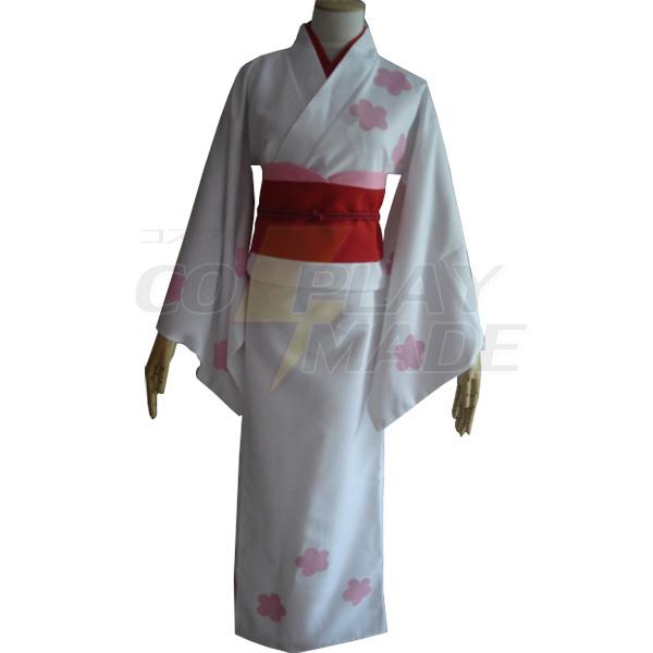 Gintama Sakata Gintoki Kimono Sex Reversal Cosplay Costume