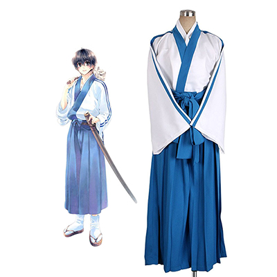 Costume Gintama Shinpachi Shimura Cosplay Déguisement Sur mesure