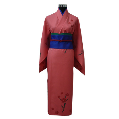 Gintama Tae Shimura Kimono Cosplay Costume