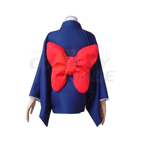Disfraces Gintama Tama Kimono Maid Vestido Cosplay