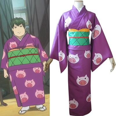 Disfraces Gintama Toushirou Hijikata Kimono Cosplay