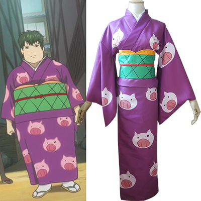 Costume Gintama Toushirou Hijikata Kimono Cosplay Déguisement