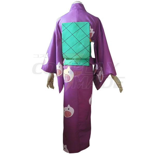 Gintama Toushirou Hijikata Kimono Cosplay Costume
