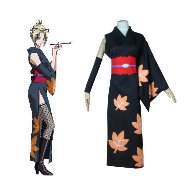 Gintama Tsukuyo Kimono Outfit Cosplay Costume
