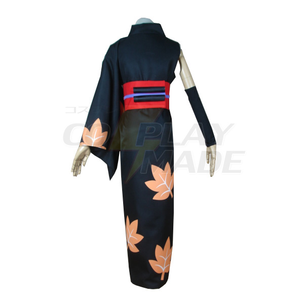 Gintama Tsukuyo Kimono Kleidung Faschingskostüme Cosplay Kostüme