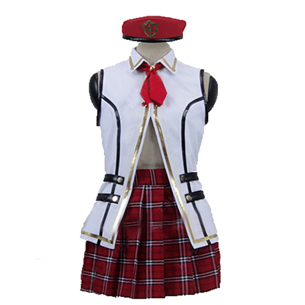 God Eater 2 Alisa Ilinichina Amiella Cosplay Costume Custom Any Size