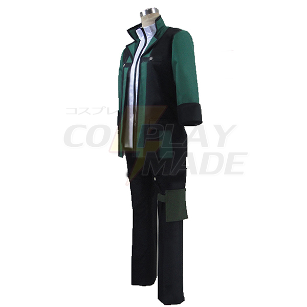 Gods Eater Burst Lenka Utsugi Uniform Clothing Cosplay Costume with Gloves