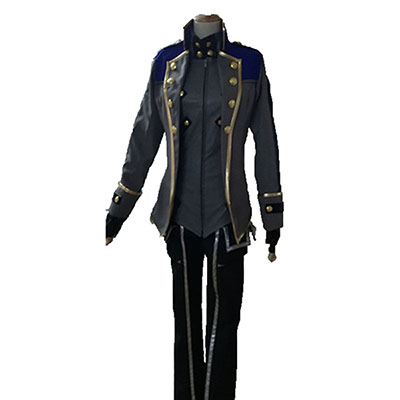 Japan Anime God Eater 2 Cosplay Kostyme Unisex Fult sett