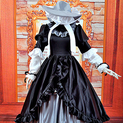 Gosick Victorique De Blois Black Dress Cosplay Costume