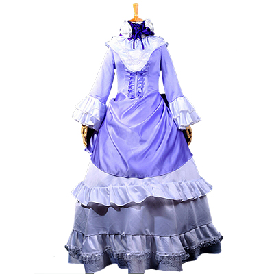 Costume Gosick Victorique De Blois Purple Lolita Robes Cosplay Déguisement