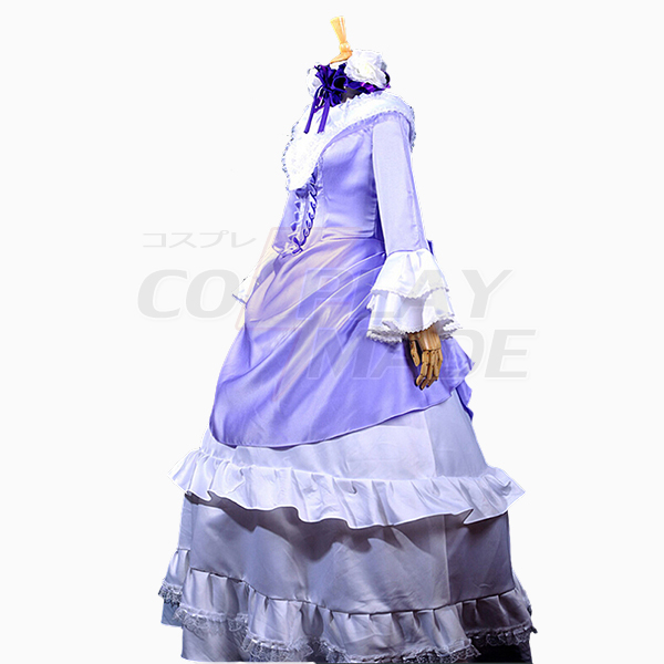 Gosick Victorique De Blois Purple Lolita Dress Cosplay Costume