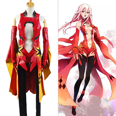 Guilty Crown Inori Yuzuriha Cosplay Kostume Halloween Carnival