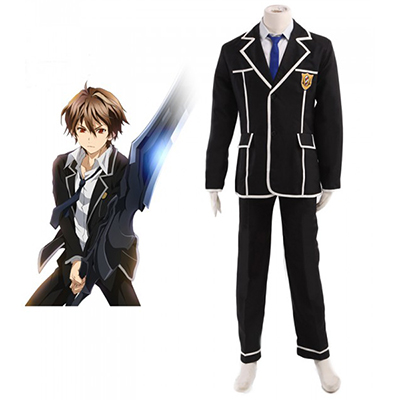 Guilty Crown Ouma Shu Tennouzu High School Uniform Cosplay Kostume